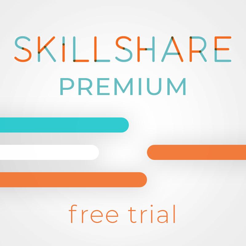 Skillshare Premium Trial